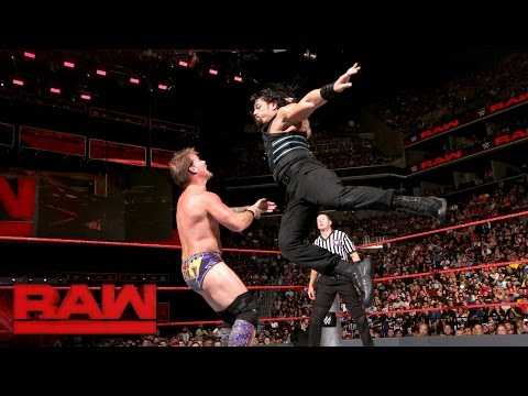 Roman Reigns vs. Chris Jericho: Raw, Aug. 22, 2016