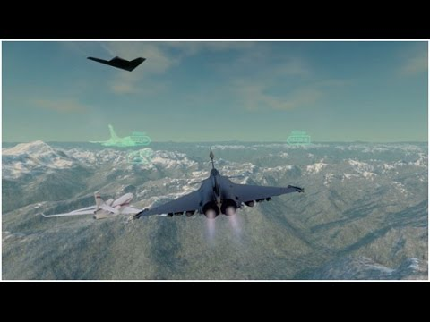 Patrol flight - Immersive Dassault Aviation Trailer