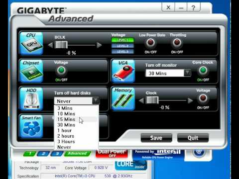 Gigabyte Energy Saver 2
