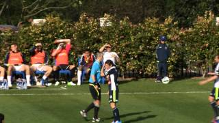 Central Coast Mariners -- V -- Melbourne Victory @ Knox Grammar School