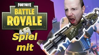 [Aufzeichnung] Fortnite MINI GUN abo zocken ! Battle Royal HYPE ! PS4 🎊 Steam Giveaway