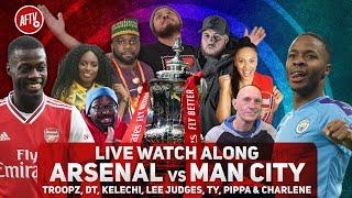 Arsenal vs Manchester City | Live Watch Along