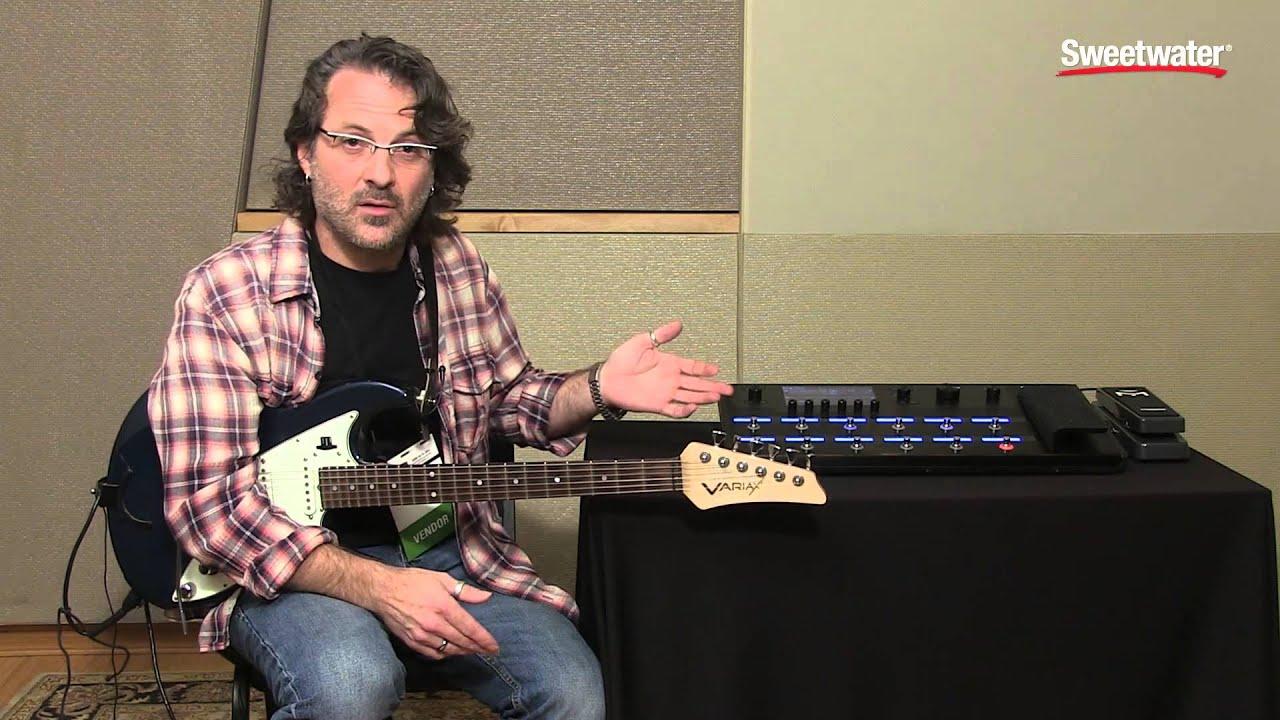 line 6 helix guitar multi effects floor processor tone demo youtube