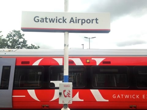 Full Journey on Gatwick Express (Class 387) from Gatwick Airport to London Victoria