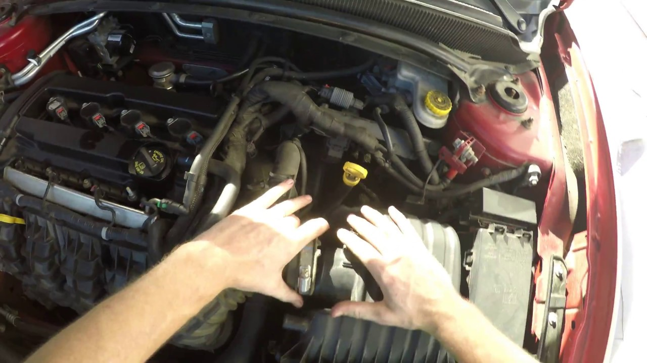 2013 dodge avenger air filter replacement [ 1280 x 720 Pixel ]