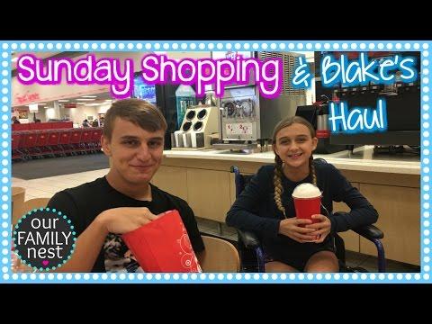 SUNDAY SHOPPING & BLAKE'S CLOTHING HAUL