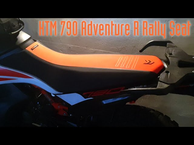 KTM 790 Adventure R Rally Sitzbank