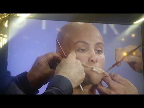 Louie Zakarian silicone prosthetic Makeup demo  IMATS NY 2017