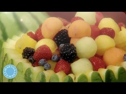 Creating a Fresh Fruit Basket- Martha Stewart