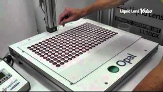 Liquid Lens Doming - Opal Semi-Automatic Machine Demonstration