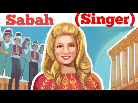 Sabah singer Google Doodle