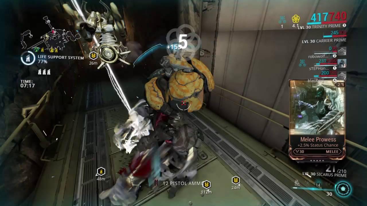 Видео про секс в игре warframe