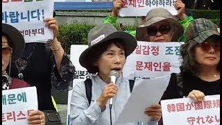 주옥순 기자회견 응징취재 중 체포 당한 백은종 기자