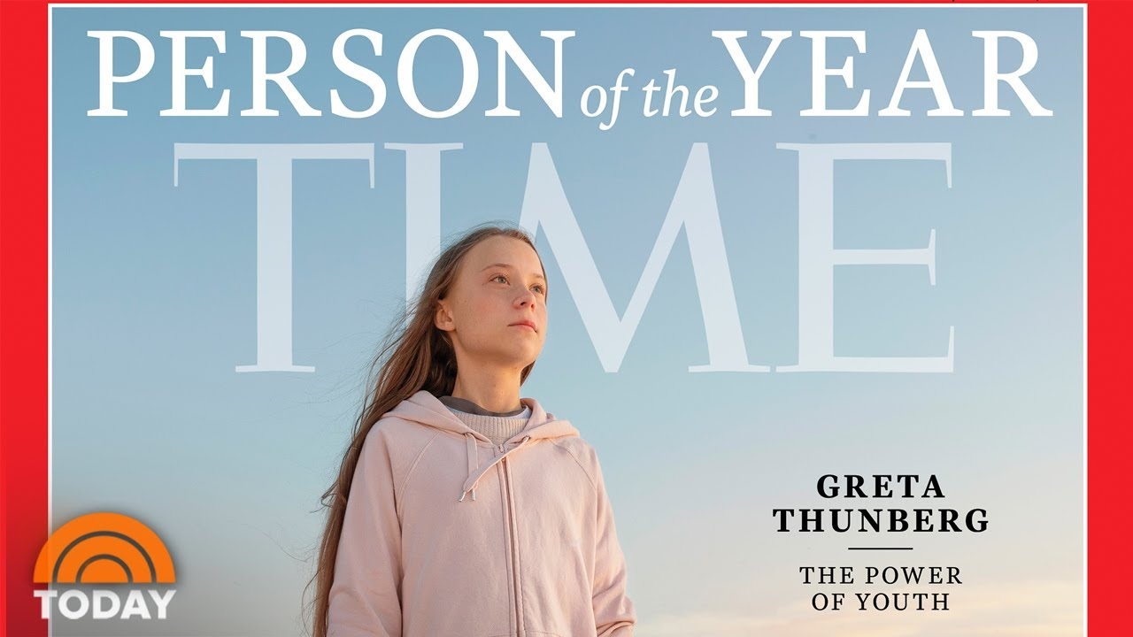 Greta Thunberg Is 'Time' Magazine's Person Of The Year For 2019