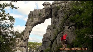 Ardèche - Escalade Chassezac