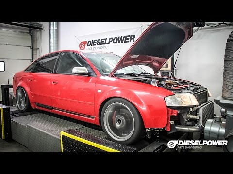 AUDI A6 2.5TDI Quattro 180PS to 286PS by DIESELPOWER