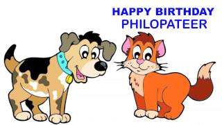 Philopateer   Children & Infantiles - Happy Birthday
