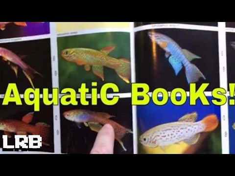 🔴 Take a Look it's In a Book It's my Aquatic Library!