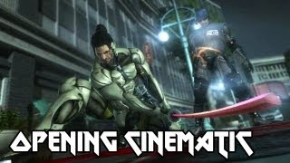 Metal Gear Rising_ Revengeance - 'Jetstream Sam Opening Cinematic' [1080p] TRUE-HD QUALITY