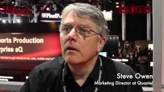 IBC 2013: Quantels file-streaming Workflows