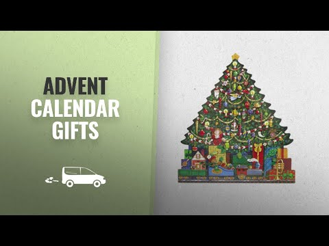 Great Advent Calendar Gifts [2018]: The Carolers Christmas Tree Advent Calendar