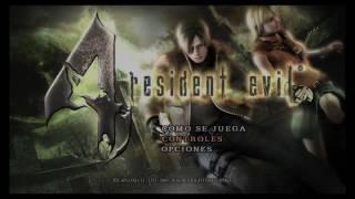 Menu Biohazard Resident Evil 4 PS4