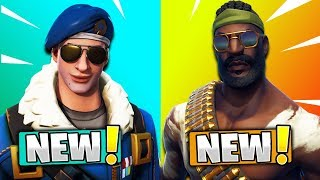 5 NEW SKINS COMING TO FORTNITE! (Fortnite Battle Royale) | Royale Bomber, Bandolier, & MORE!
