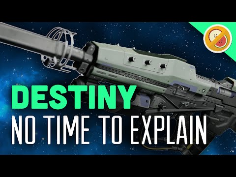 DESTINY No Time To Explain Fully Upgraded Exotic Pulse Rifle Review (The Taken King Exotic)