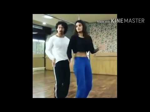 Ding Dang Song Practice By Tiger And Nidhi