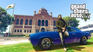 GTA 5 PC Mods - REAL LIFE MOD #5! GTA 5 School & Jobs Roleplay Mod Gameplay! (GTA 5 Mod Gameplay)