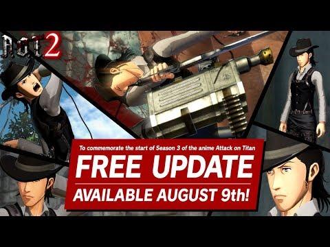 Free Update! | Attack On Titan 2