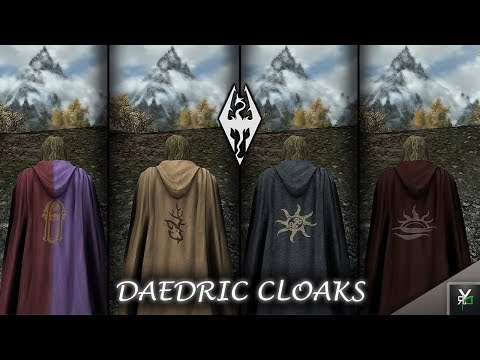 DAEDRIC CLOAKS: Clothing Mod!!- Xbox Ragnarok Mod Showcase