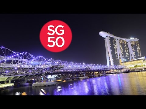 Singapore Timelapse / Hyperlapse - A Tribute To SG50 in 4K