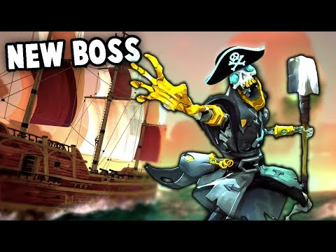 NEW BOSS Battles in Sea of Thieves!  Perilous Journey (Sea of Thieves Beta Gameplay Update)