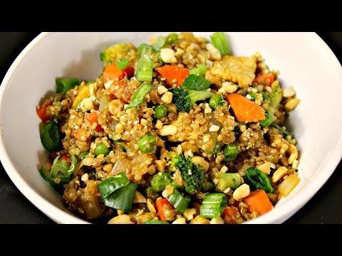Quinoa Stir Fry | (Quinoa Fried