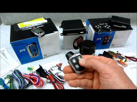 A Look At The Code Alarm Pro Series Alarms CA1053 & CA6553