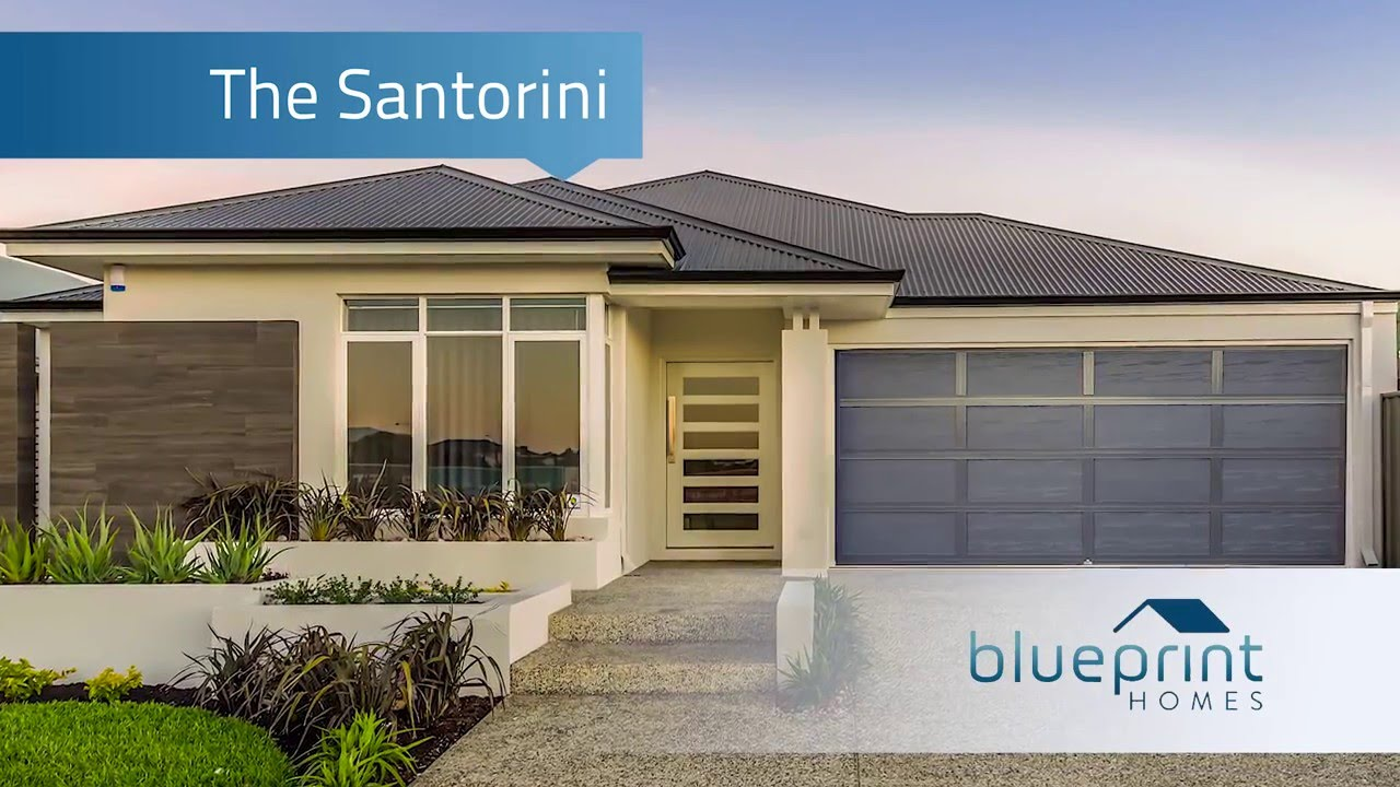 Blueprint homes the santorini display home perth youtube malvernweather Image collections
