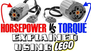 NEVER be confused by HORSEPOWER and TORQUE again - HP and TORQUE EXPLAINED in the MOST VISUAL WAY