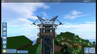 ROBLOX Universal Studios - Dr. Doom's Fear Fall