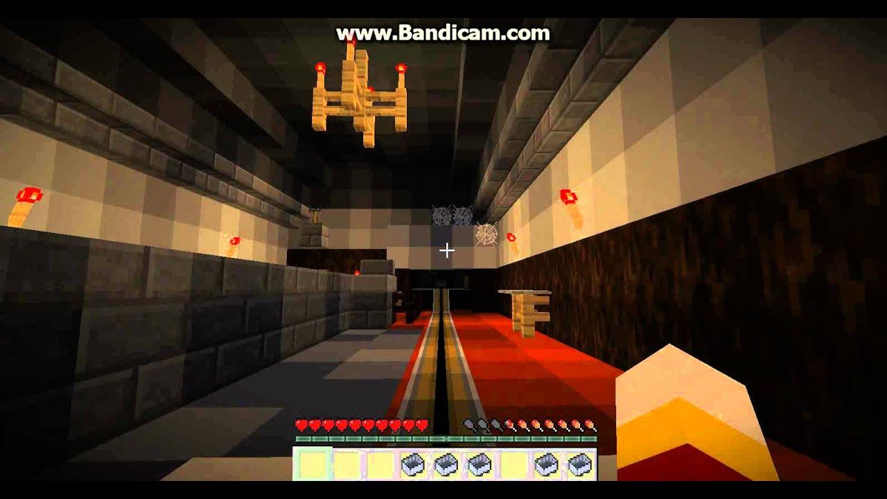 Minecraft Haunted Mansion Disney World