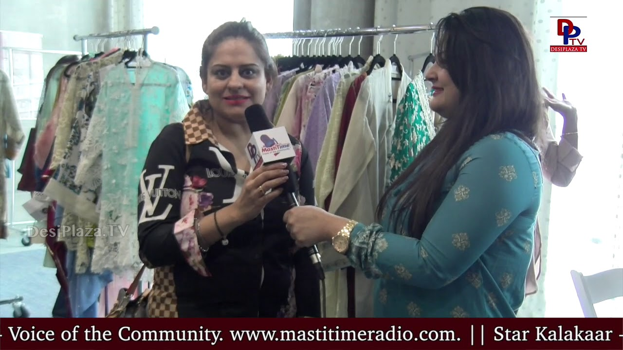 Sonu, One of the audience speaks to DesiplazaTV at Pop up by House of Ensemble Jewellery Show || USA