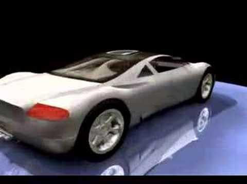 Audi Avus Quattro 3D animation