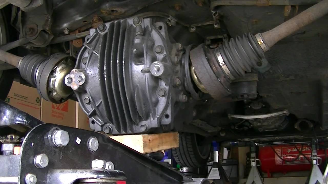 4 1995 Lexus Sc300 Differential Removal Youtube
