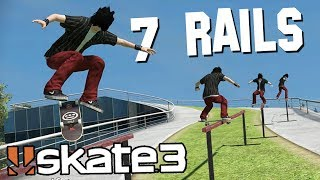 Skate 3: CRAZY RAIL TRICK!?   Epic Challenges!