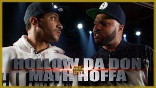HOLLOW DA DON VS MATH HOFFA EPIC RAP BATTLE - RBE