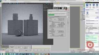 3Ds Max + Corona Render. Рендер в сетке