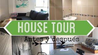 HOUSE TOUR - Antes y después ♥️ ⎥Monica Vizuete