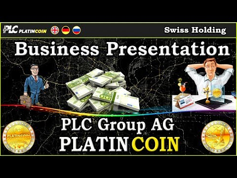 PlatinCoin PLC Group AG - Business Presentation !