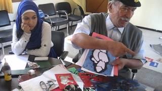 BABA HAJJI TAZA MAROC  =Associatif Travaux  manuels المنظمة المغربية للطفولة و الشباب مكناس