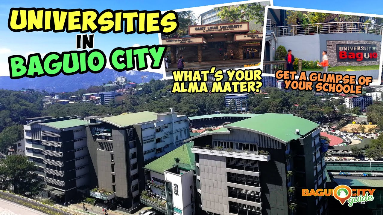 Passing By Universities and Schools in Baguio City (What's Your Alma Mater?)